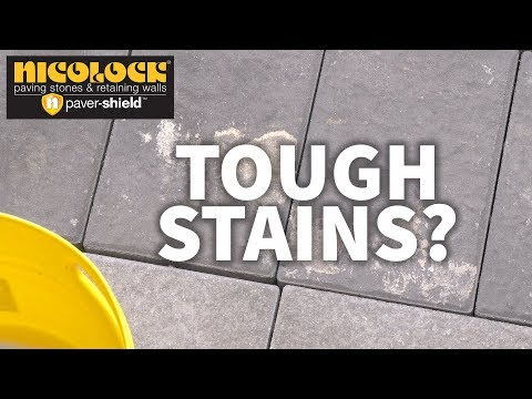 Cleaning Your Nicolock Pavers | Tough Stains