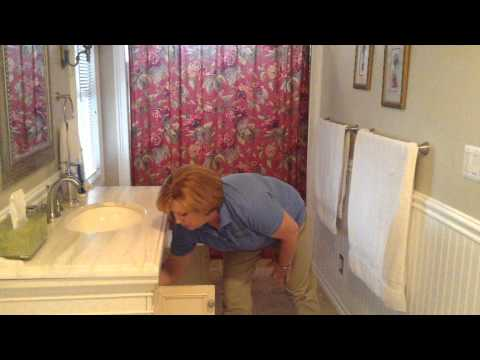 Organizing Bathroom Cabinets and Drawers