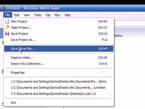 How to split up videos in Windows Movie Maker