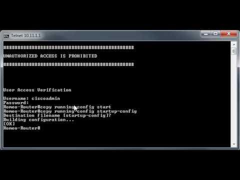 Configure Login Banner on Cisco Devices