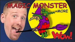 Magic Monster Stories for Kids from Steve and Maggie + MORE | Wow English TV
