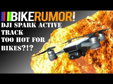 DJI Spark Active Tracking & Bikes
