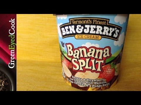 Ben & Jerry's BANANA SPLIT Review