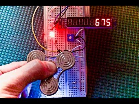 Fidget Spinner Arduino Tachometer!