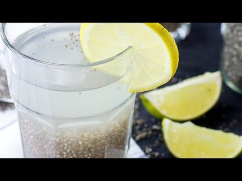 Lose weight fast with chia seeds and lemon mix - EFFECTIVE BURNING FAT DRINK