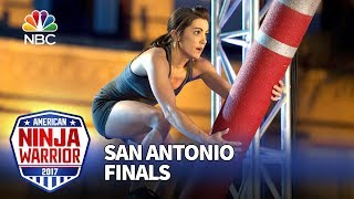 Kacy Catanzaro at the San Antonio City Finals - American Ninja Warrior 2017