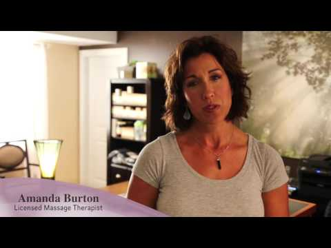 Amanda Burton, licensed massage therapist