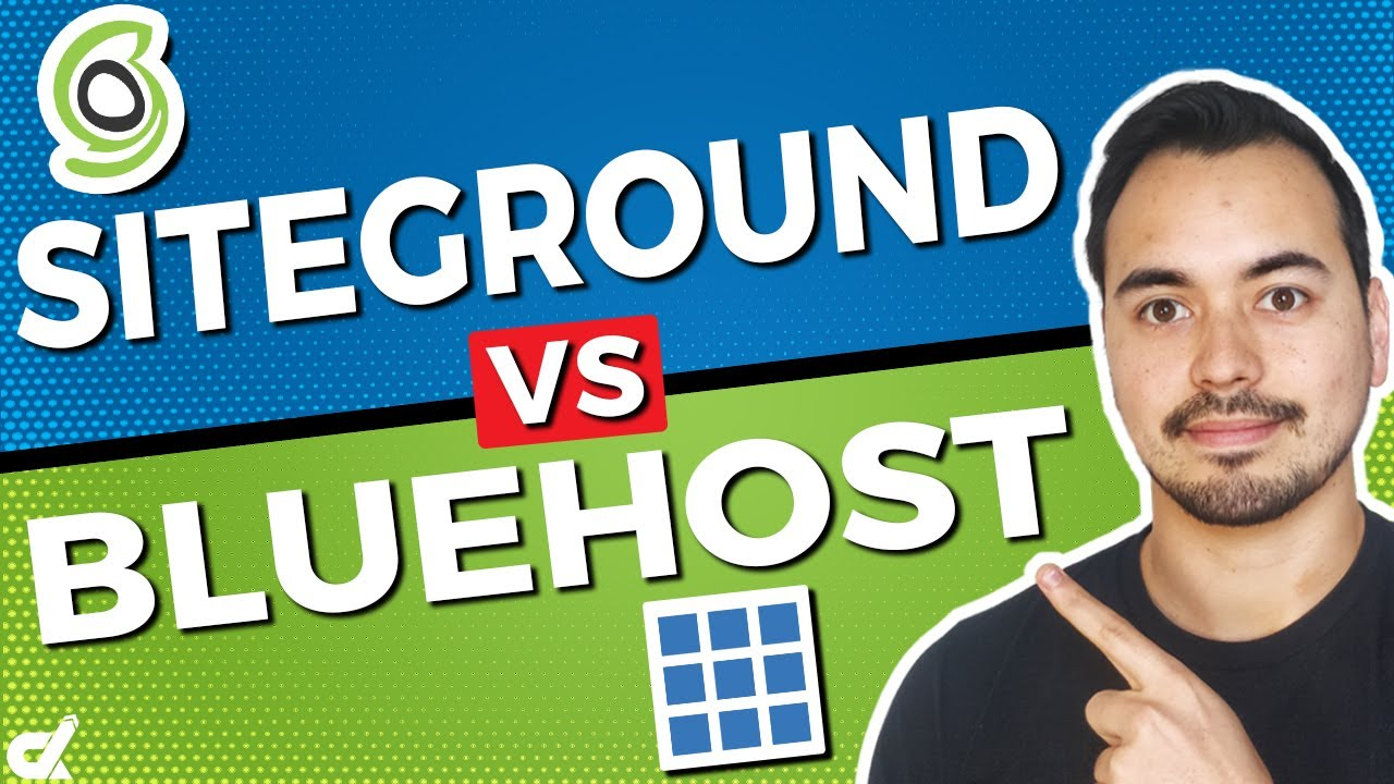 Siteground vs Bluehost WordPress Hosting 🔥 Who's The Best Web Hosting Provider? (My Recommendation)