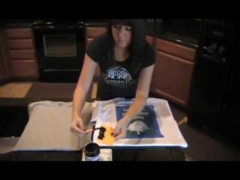 DIY T-Shirt Screen Printing How-To, Print Your Own Custom T-Shirts at Home!