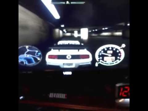 Need for Speed Most wanted playing in Neutral gear
