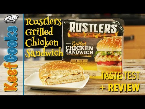 Rustlers Grilled Chicken Sandwich | Taste Test and Review