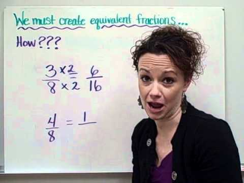 Equivalent Fractions-Christine Munafo's Flipped Classroom-4th grade STEM