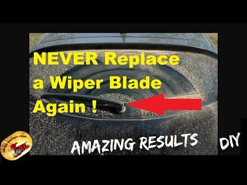 NEVER ! Replace a Wiper Blade  AGAIN !!!  Amazing :)