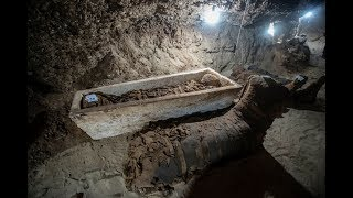Archaeologists In Egypt Uncovered An Underground Tomb Filled With Creepy 1,500 Year Old Occupants