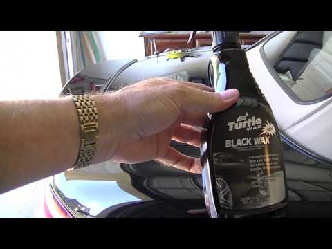 TURTLE WAX BLACK WAX - VERY IMPRESSIVE