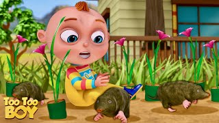 TooToo Boy   Mole In The Hole Episode   Cartoon Animation For Children   Videogyan Kids Shows