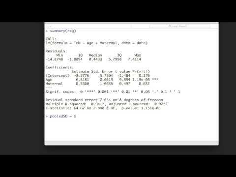 Calculating Standardised Regression Coefficients in R