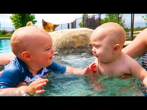 BABY HOT TUB PARTY!
