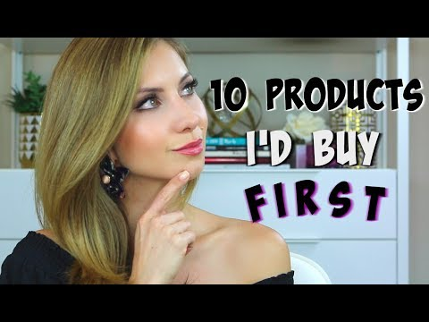 10 PRODUCTS I'D BUY FIRST | IF I LOST ALL MY MAKEUP TAG
