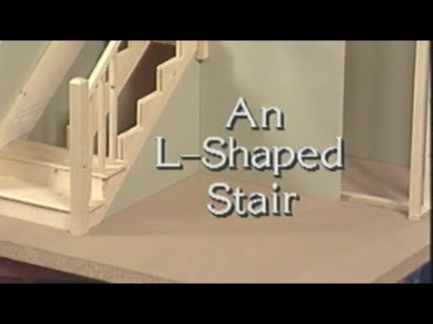 How to make l shaped stairs