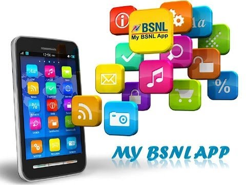 MY BSNL APP FOR ANDROID AND WINDOWS PHONES