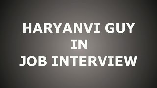 Haryanvi Guy in Interview || Ramphal Episode 1 || HRB Fusion ||