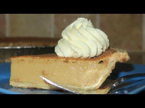 Creamy Butter Rum Pie