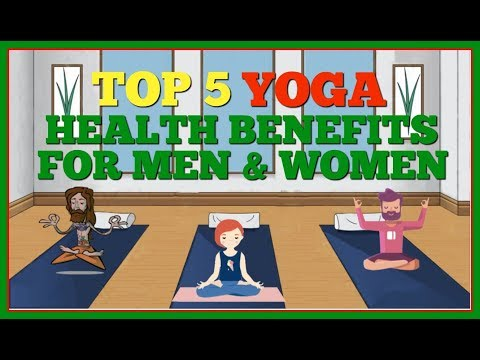 Top 5 Yoga Health Benefits for Men and Women (Lebron James and Sports Teams doing Yoga!)