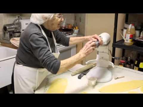 How To Make Spaghetti & Fettuccine Pasta by Nonna Pia (Recipe)