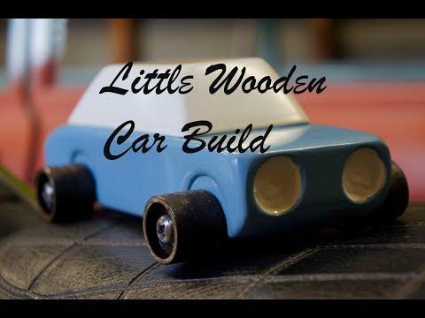 Little Wooden Car Build