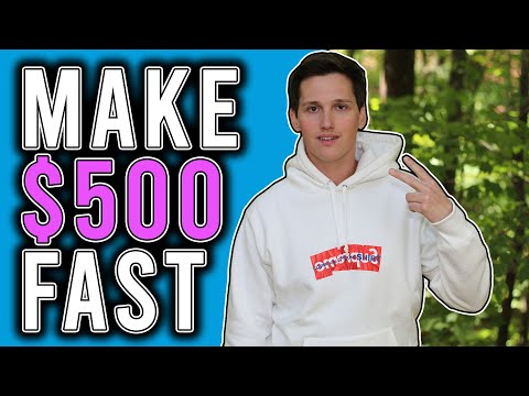 How To Make $500 Today FAST! [Starting Off Broke]