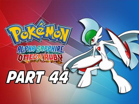 Pokemon Omega Ruby & Alpha Sapphire Walkthrough Part 44 - Mega Gallade (3DS Commentary)