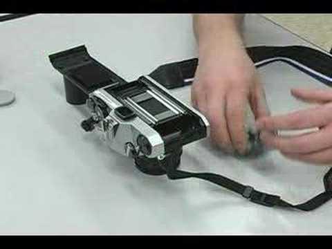 Loading Film into a 35mm SLR Camera