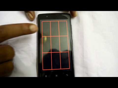 Lenovo A2010 Touch Screen Test