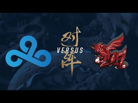 C9 vs. AHQ | Group Stage Day 8 | 2017 World Championship | Cloud9 vs ahq e-Sports Club
