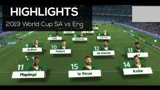 Highlights - Rugby World Cup 2019 Final , cheslin kolbe
