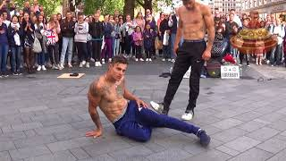 AMAZING street dancers in London