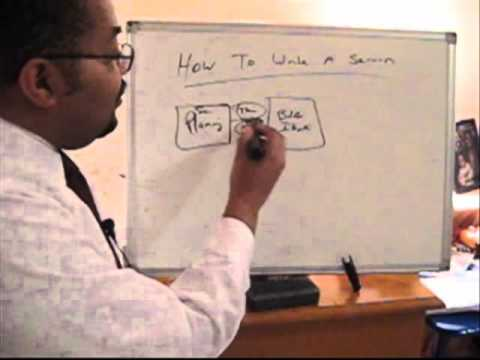 How To Write A Sermon