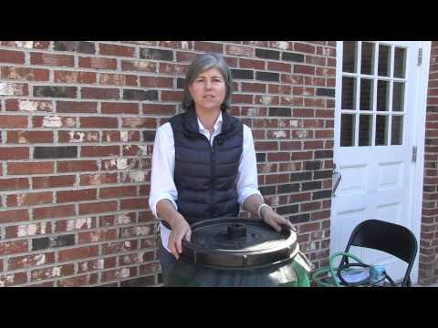 Rain Barrel-Hints for Use