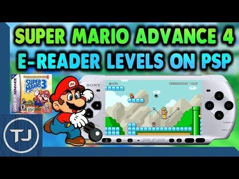 Play Super Mario Advance 4 E-Reader Levels On PSP/PSP GO!