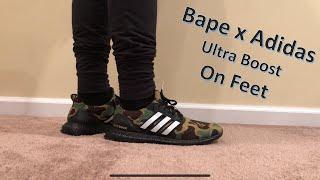d0e9e0c115f Bape x Adidas Ultra Boost 4.0