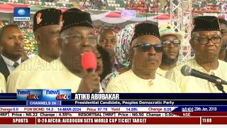 PDP Presidential Candidate Takes Campaign To Akwa Ibom State