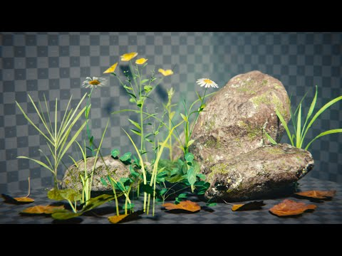 How to Create Low Poly Nature - Blender Tutorial
