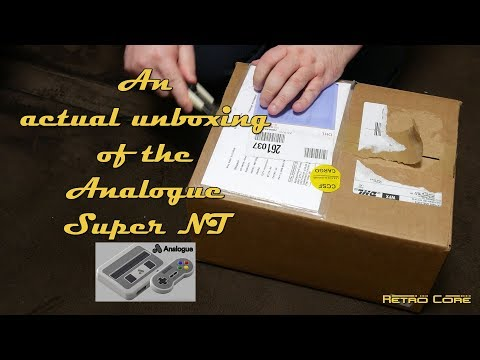 Analogue Super NT - An actual unboxing - 4K