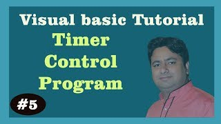 Learn Visual Basic 6 0 -Display Date and Time Using Timer