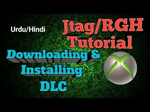 Jtag / RGH Urdu / hindi Tutorial no 10 (a) Downloading & Installing DLC