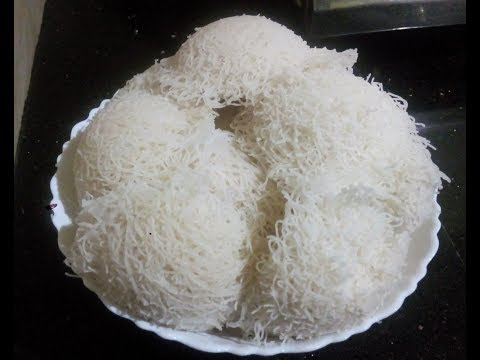 How to make soft Idiyappam at home Nool Puttu / Nool Appam (malayalam)