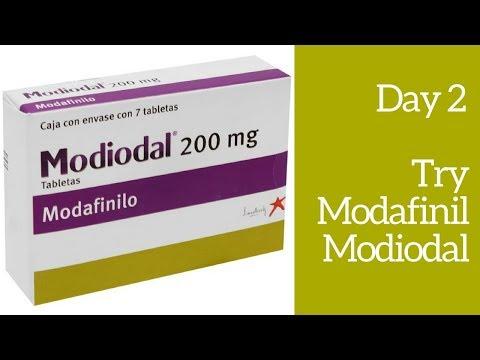 Day 2 Try Modafinil Modiodal