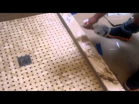 How to seal marble floors and walls