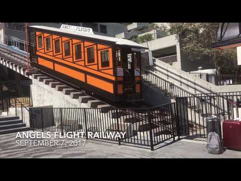 Angels Flight: Ride the 117 Year-Old Incline Railway in Downtown LA